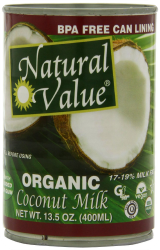 Natural Value Organic Coconut Milk