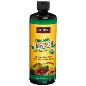 Nutiva Cold Pressed Hemp Seed Oil