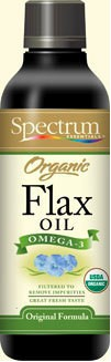 Spectrum Organic Flax Oil