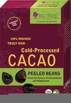 Big Tree Cold-Pressed Cacao Beans