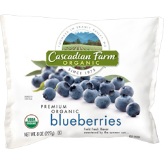 Cascadian Farm Organic Frozen Fruit Blueberries