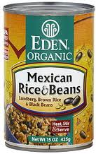 Eden Foods Mexican Rice and Beans