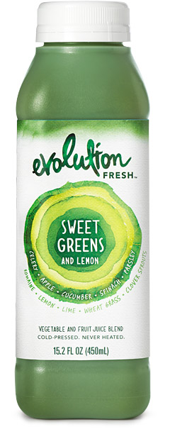 Evolution Sweet Greens and Lemon