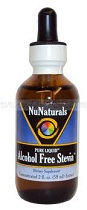 Nunaturals Alcohol Free Stevia
