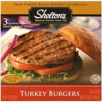 Shelton's Turkey Burgers