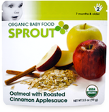 Sprouts Organic Baby Food