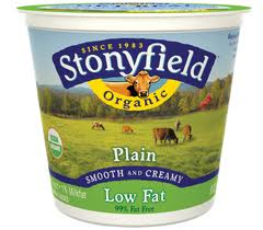Stonyfield Farms Plain Organic Yogurt