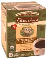 Teeccino Herbal Coffee Tea Bags