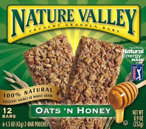 Natures valley granola